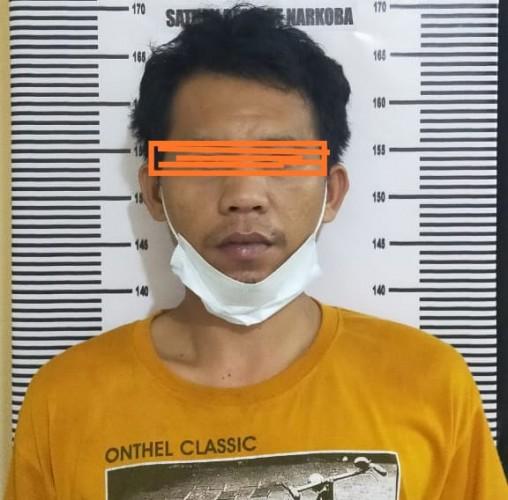 Pengedar Sabu di Natar Ditangkap Polisi