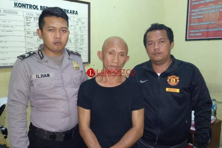 Pengedar Sabu Ditangkap di Tulangbawang