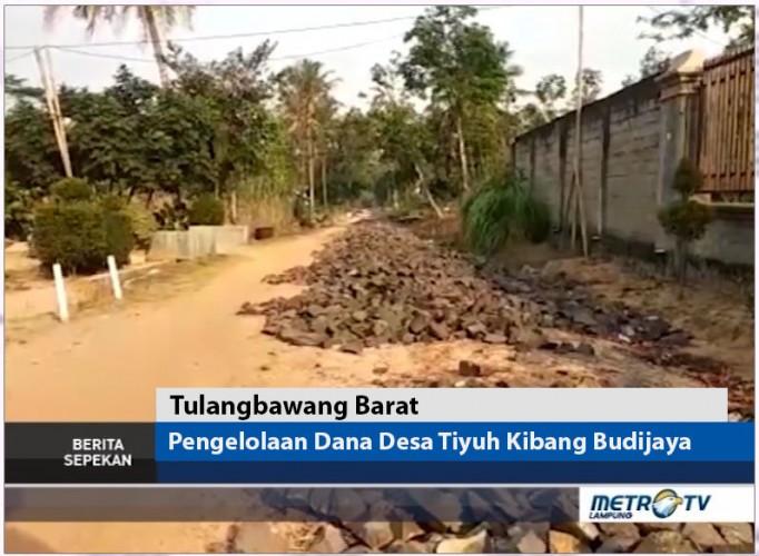 Pengelolaan Dana Desa Tiyuh Kibang Budijaya Tubaba