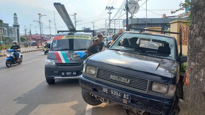 Pengendara Mobil Jadi Korban Penganiayaan di Jalan Sultan Agung Bandar Lampung