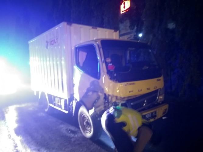 Pengendara Motor Tewas Dihantam Truk di Jalan Yos Sudarso