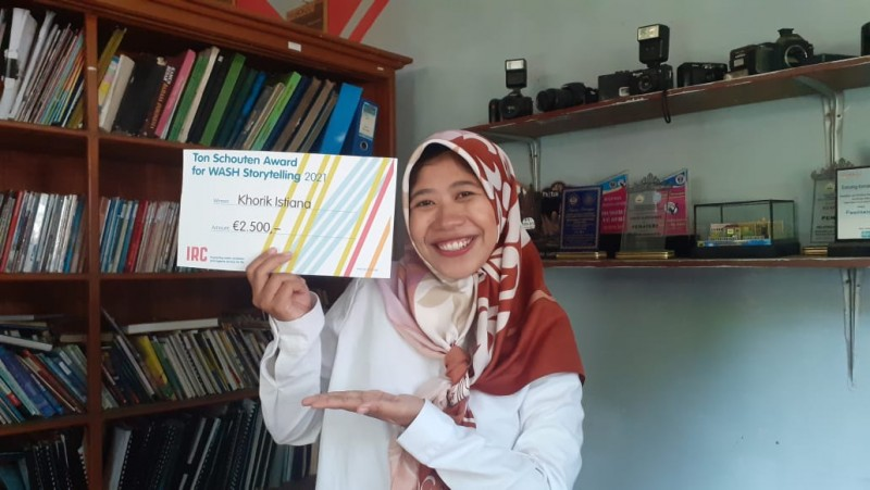 Penggerak Sanitasi Asal Lampung Raih Penghargaan