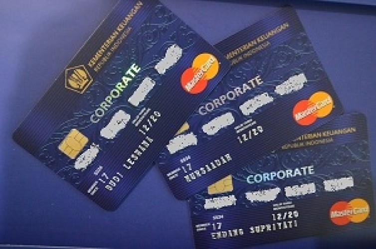 Penggunaan Kartu Kredit Pemerintah Semudah Kartu Kredit Perorangan