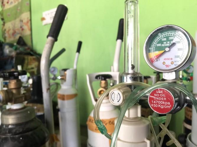 Pengisian Tabung Oksigen di Pringsewu Bayar Seikhlasnya