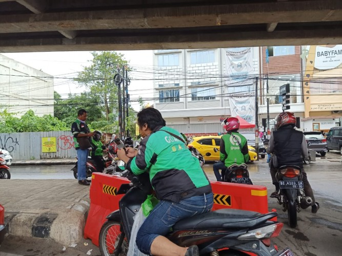 Pengojek Minta Kejelasan Aturan Pengangkutan Penumpang