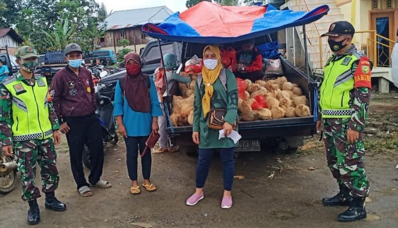 Pengunjung Pasar Balak yang Abai Prokes bakal Diberi Sanksi