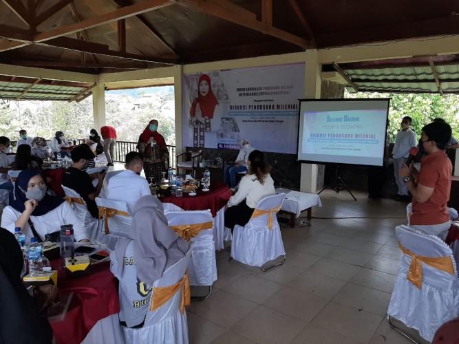 Pengusaha Milenial Jadi Kekuatan Ekonomi Bandar Lampung