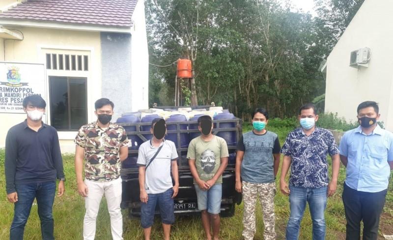 Penimbun BBM Bersubsidi Dibekuk saat Angkut Puluhan Derigen