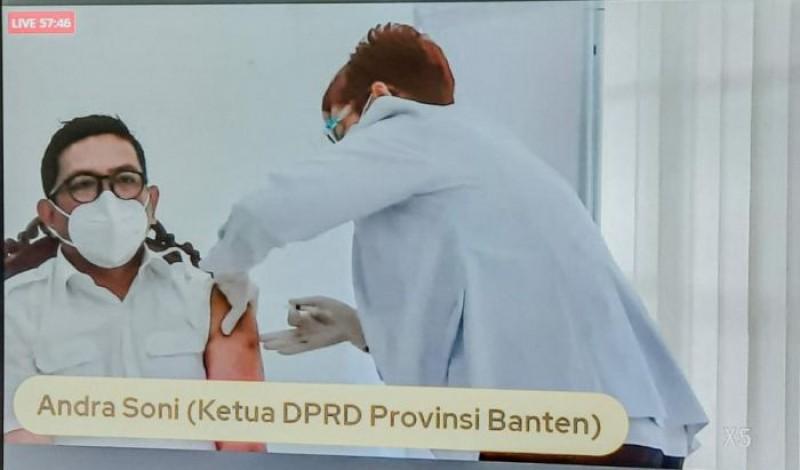 Penjelasan Gubernur Banten Soal Kisruh Vaksin Ulang karena Belum Difoto