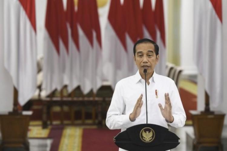 Penjelasan Jokowi soal Bank Tanah di UU Ciptaker