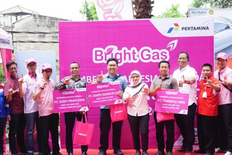 Penjualan LPG Bright Gas Naik 107 Persen