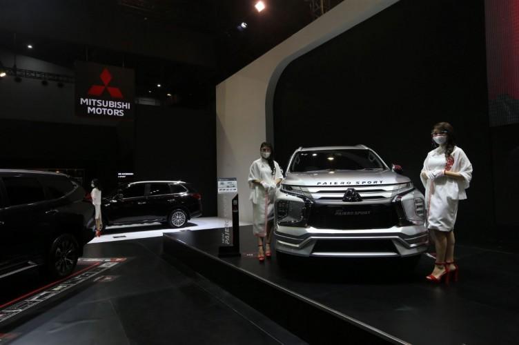 Penjualan Mitsubishi di IIMS Hybrid 2021 Lampaui Target