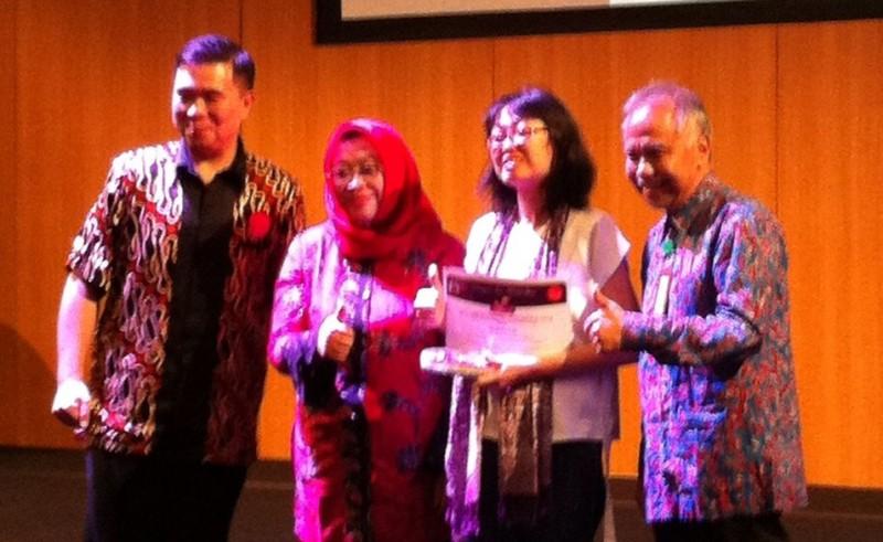 Penulis Lampung Raih Penghargaan IAI 2018