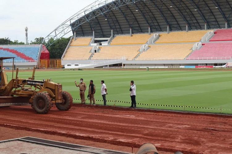 Penundaan Piala Dunia U-20 Tak Halangi Renovasi Stadion Jakabaring