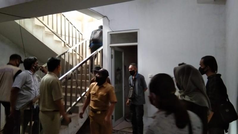 Penyebab KepulanAsap di Gedung Satu Atap Pemkot