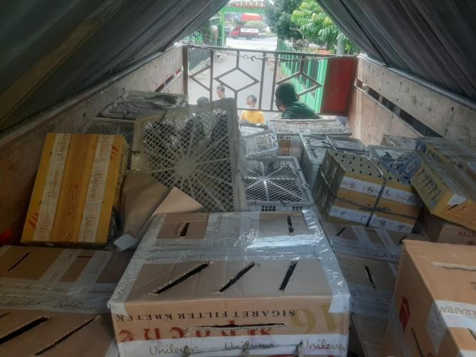 Penyelundupan 3.726 Ekor Burung Ilegal ke Jawa Digagalkan