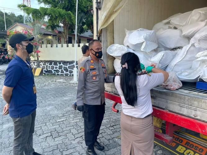 Penyelundupan 5 Ton Daging Celeng Digagalkan di Pelabuhan Bakauheni
