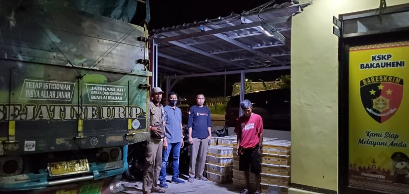 Penyelundupan Ribuan Ekor Burung Asal Lamteng Gagal Dikirim