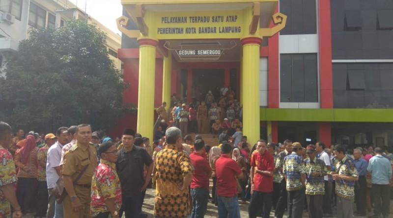 Penyerahan Bantuan Operasional RT Pemkot Bandar Lampung Digelar Tertutup