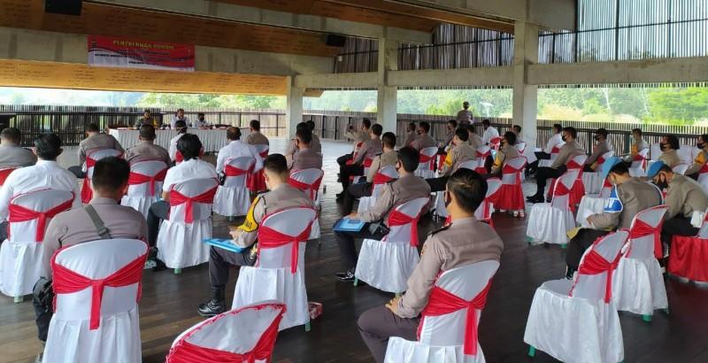 40 Penyidik Polres Tubaba Ikuti Penyuluhan Hukum