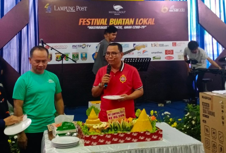 Perayaan HUT Ke-46 Lampung Post Selama Sepekan Berjalan Sukses