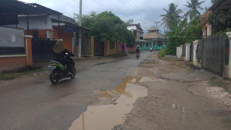 Jalan Lingkungan Bandar Lampung Diperbaiki Agustus