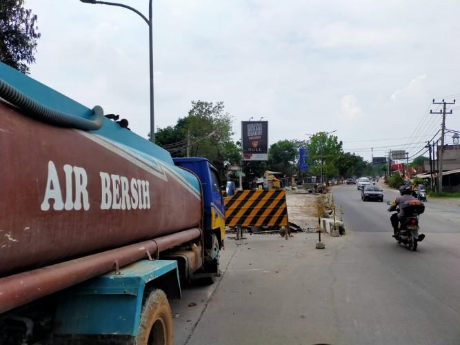 Perbaikan Jalan Ryacudu Ditarget Rampung November 2021
