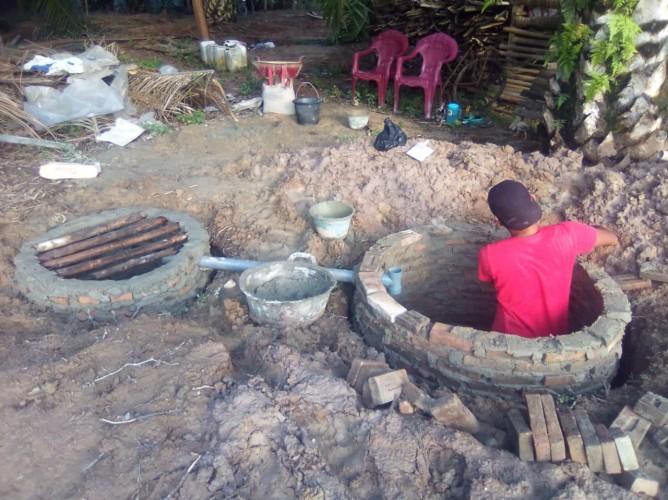 Percepat ODF, Desa Pulaujaya Salurkan Stimulan Jamban Sehat Kepada 110 KK