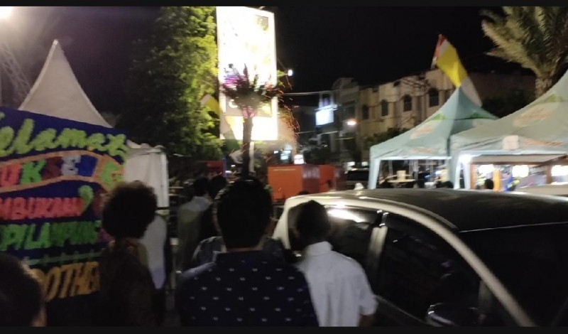 Percikan Api dari Genset Buat Panik Pengunjung Festival Kopi