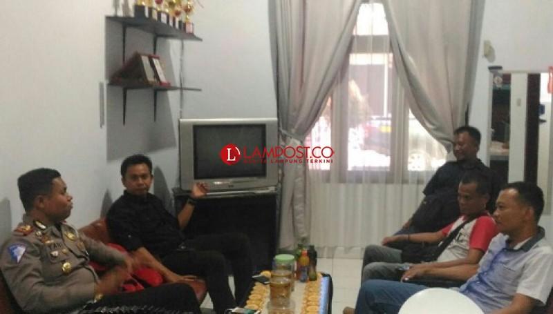 Pererat Silaturahmi, PWI Sambangi Mapolres Lampura