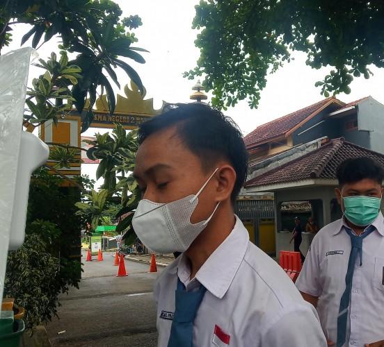 Pergerakan Siswa di Bandar Lampung Dijaga Ketat selama PTM