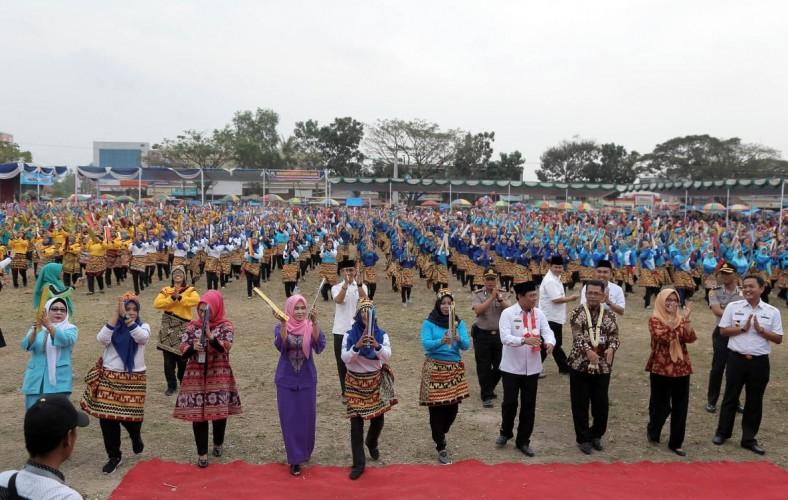 Peringati Hari Anak Nasional, Pemkab Lamsel Gelar Gebyar PAUD 2018