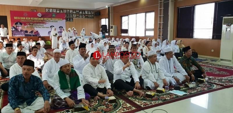 Peringati Hari Bhakti Adhyaksa, Kejaksaan Tinggi Lampung Gelar Doa Bersama