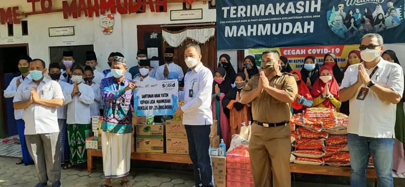 Peringati HUT Ke-25, PTPN 7 Salurkan Bantuan ke Panti Asuhan