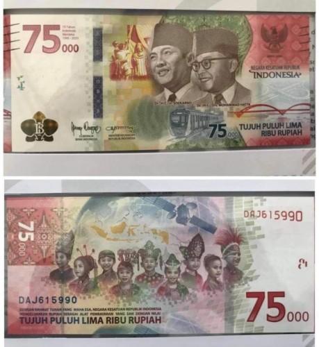 Peringati HUT Kemerdekaan, BI Terbitkan Uang