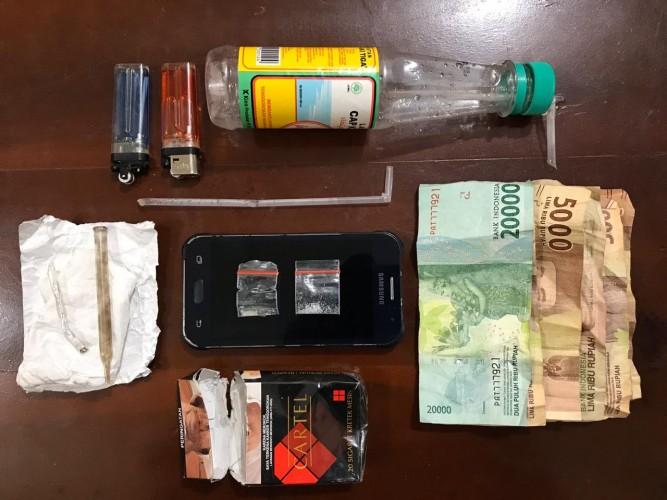 Perkara Narkoba, Residivis Hingga IRT di Lamteng Disikat Polisi