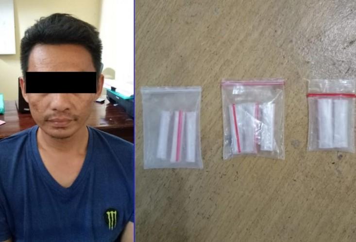Perkara Narkoba, Warga Kampung Buyut Udik Digelandang ke Kantor Polisi