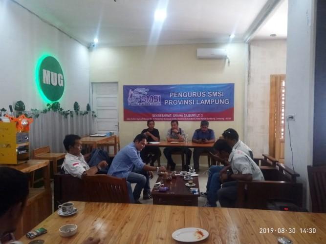 Perkuat Eksistensi, SMSI Lampung Gelar Rapat Kerja