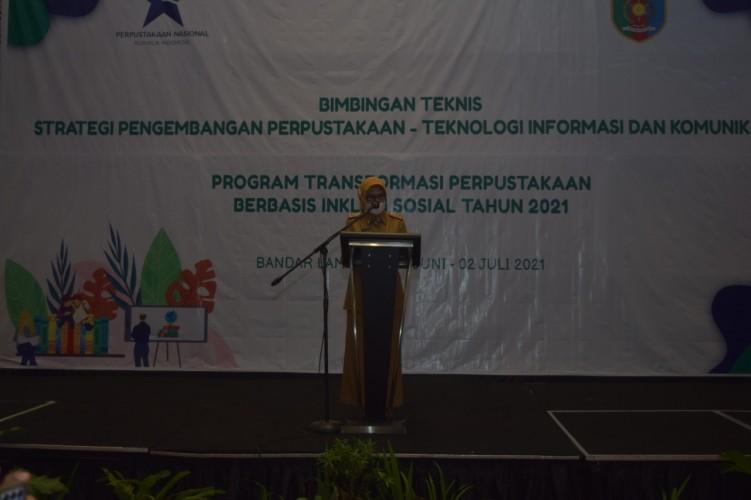 Perpusnas Gelar Bimtek Strategi Pengembangan Perpustakaan di 32 Provinsi