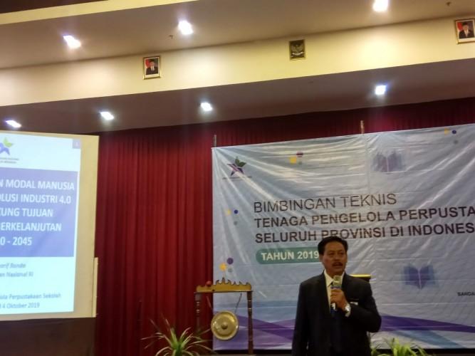 Perpustakaan Nasional Beri Bimbingan Teknis pada Pengelola Perpustakaan Lampung