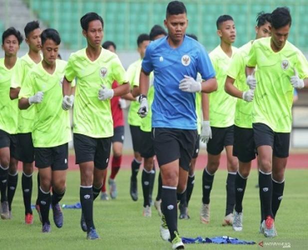 Persib Bandung AjakTimnas U-16 Beruji Coba