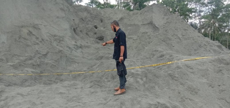Persoalan Bocah Tertimbun Abu Batu Diselesaikan Secara Kekeluargaan