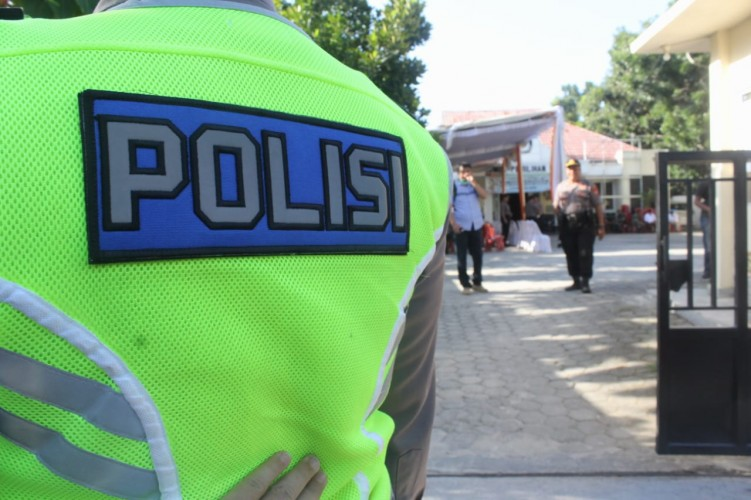 Personel Gabungan Amankan Pendaftaran dan Penyerahan Berkas Pilwakot