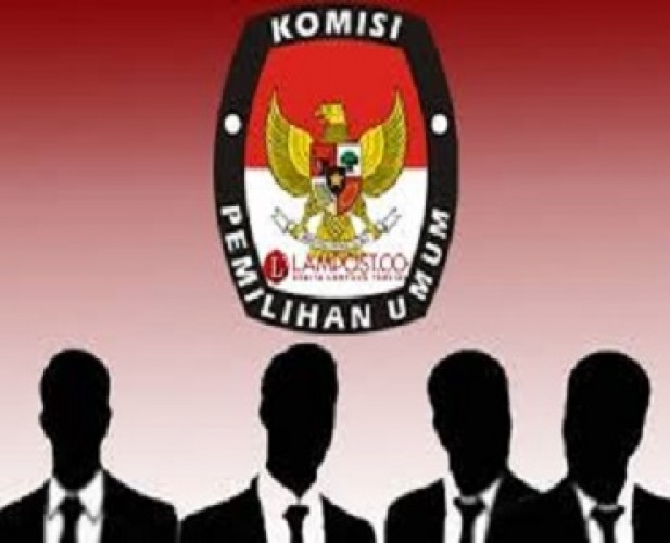 Personel KPU Bandar Lampung <i>Work From Home</i>