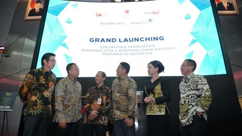 Pertama di Indonesia, Pembukaan Rekening Efek Secara Full Digital