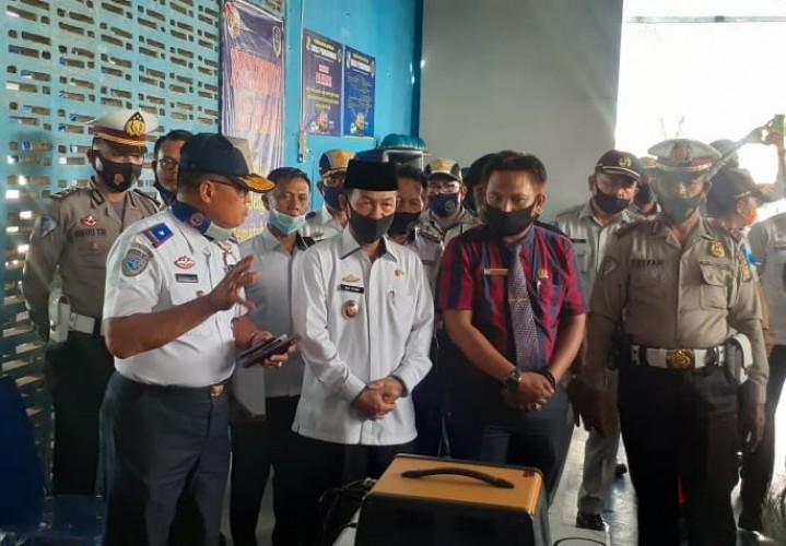 Pertama di Lampung, Uji Kir Lampura Pakai Sistem Online