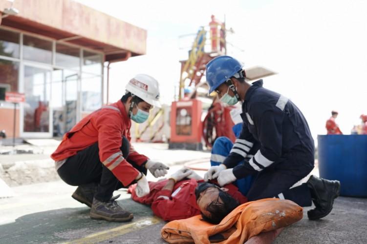 Pertamina Gelar Simulasi Penanganan Keadaan Darurat Level 0