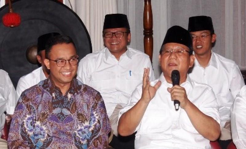 Pertemuan Anies dan Prabowo Bukan Bahas Pilkada