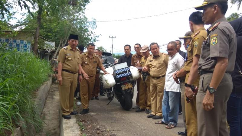 Pertigaan Jalan Untung Suropati-Nusantara Diperlebar