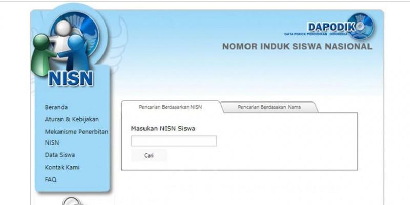 Perubahan NISN Diharapkan Hanya Bagi Siswa Baru